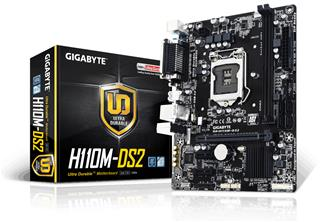 PLACA i3/i5/i7 GIGABYTE H110M-DS2 DDR4 (1151) REACONDICIONADA